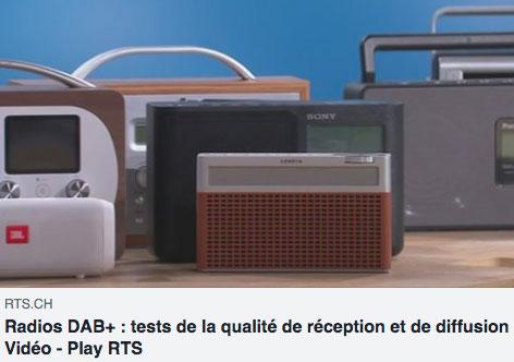 RTS - Test DAB+ - A bon entendeur